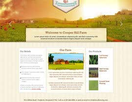 #27 para Design a Website Mockup for IslandFarming.com & Logo por rainbowfeats