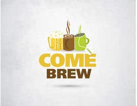 #41 for ComeBrew Logo Design by wavyline