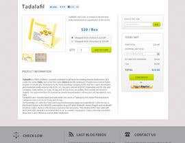 dragnoir tarafından Wordpress Theme Design for Import Research Chemicals için no 17
