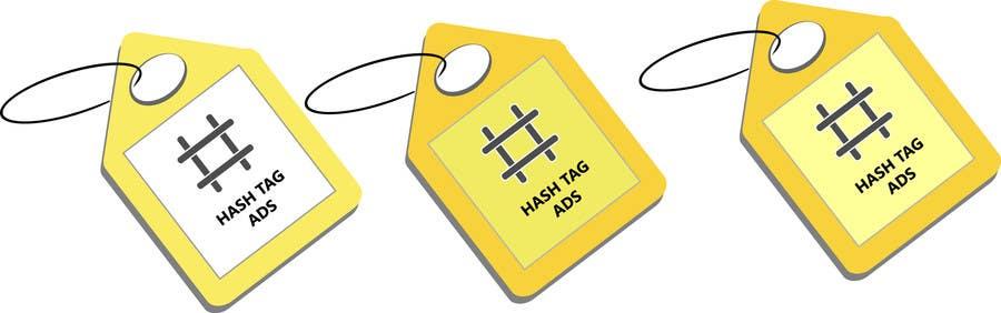 Penyertaan Peraduan #75 untuk Design a Logo for Hash Tag Ads
