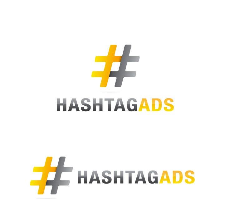 Penyertaan Peraduan #275 untuk Design a Logo for Hash Tag Ads