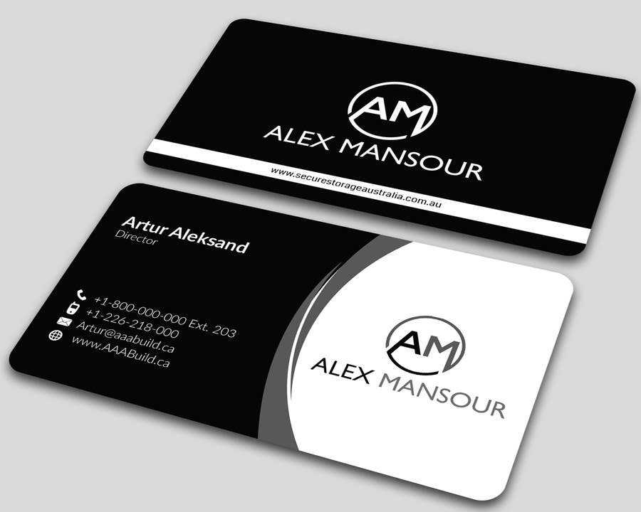 Entry #14 by ALLHAJJ17 for Business Card design for Freelance ...