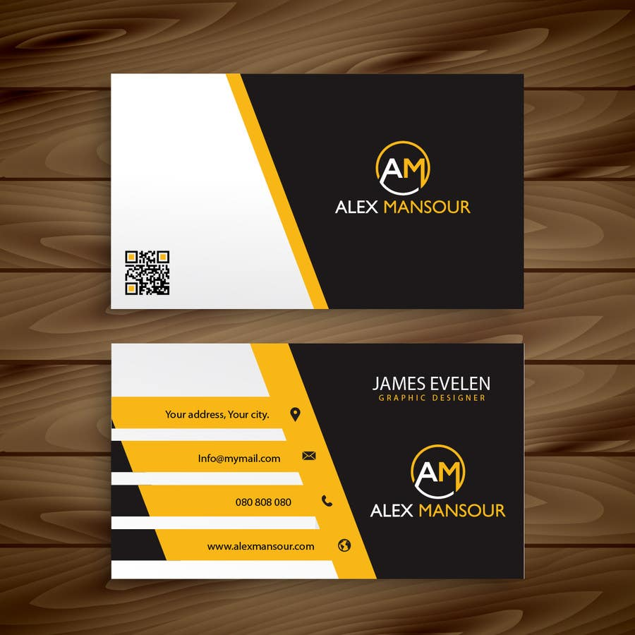 Entry #29 by AllGraphicsMaker for Business Card design for ...