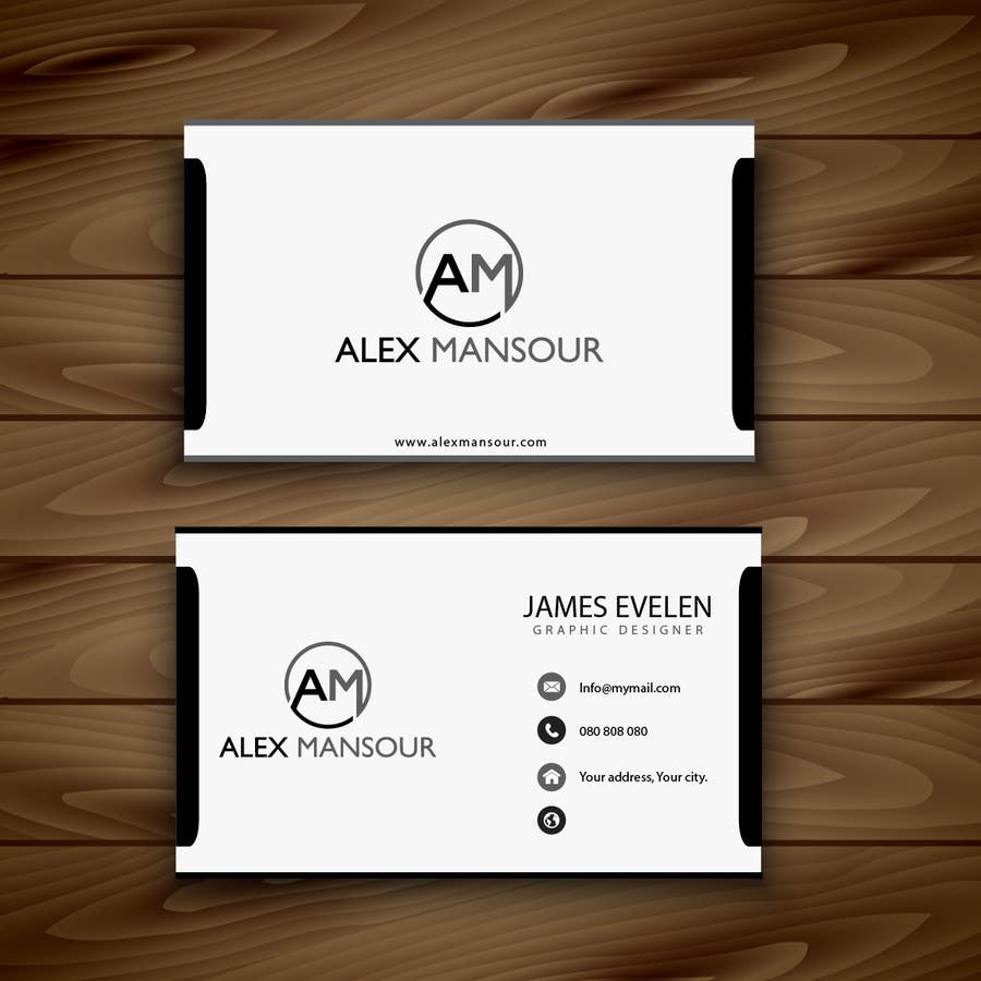 Entry 33 by allgraphicsmaker for business card design for freelance business card reheart Gallery