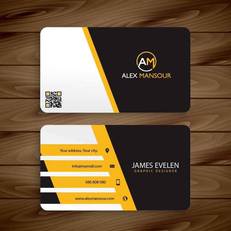 Business Card design for Freelance Software Developer ...