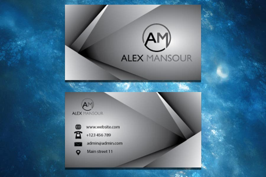 Entry #39 by LanmiArt for Business Card design for Freelance ...