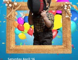 #19 cho Design My Son's Birthday Invite .Gif bởi hasinurrahman108