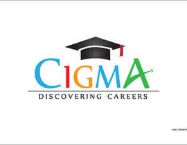 nº 96 pour Company logo Design for CIGMA INDIA - India's Leading Career Counseling Organization par GamingLogos