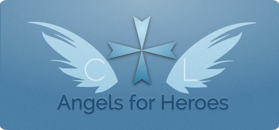 """Penyertaan Peraduan #20 untuk Design a Logo for """"Angels for Heroes"""""""