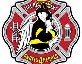 "nº 25 pour Design a Logo for ""Angels for Heroes"" par houerd"