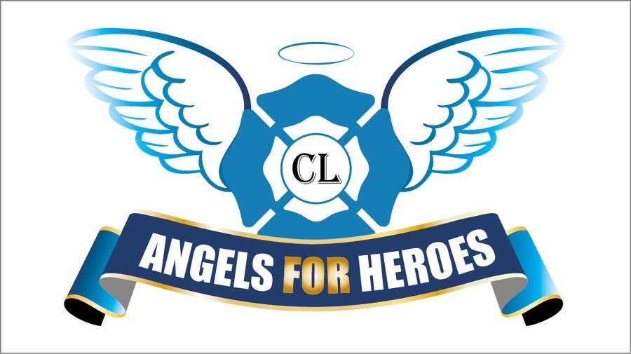 """Penyertaan Peraduan #28 untuk Design a Logo for """"Angels for Heroes"""""""