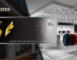 nº 29 pour Design an Advertisement for King Of Stores par maxidesigner