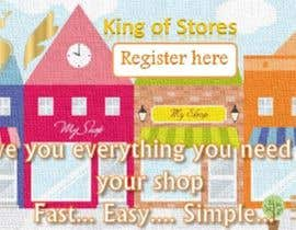 nº 26 pour Design an Advertisement for King Of Stores par professionaldeal