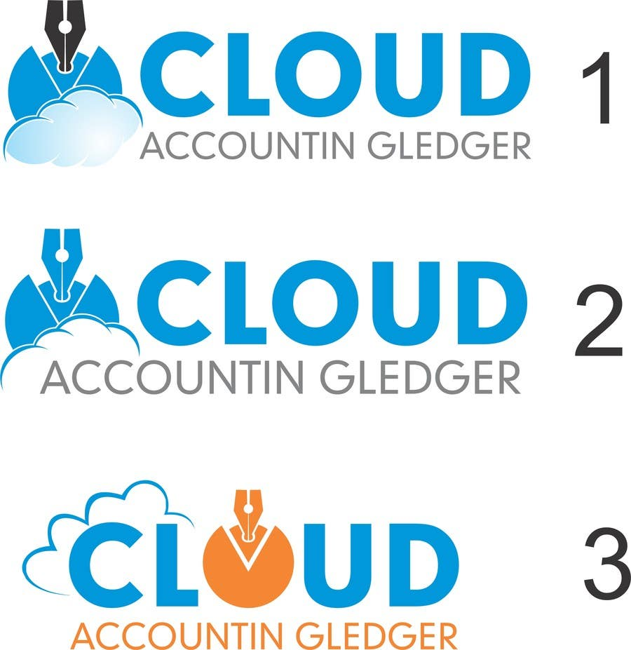 Konkurrenceindlæg #96 for Design a Logo for CLOUDACCOUNTINGLEDGER.COM