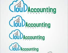 #137 untuk Design a Logo for CLOUDACCOUNTINGLEDGER.COM oleh miraclesolution