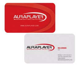 #16 for Design some Business Cards for AuraPlayer by javijavos