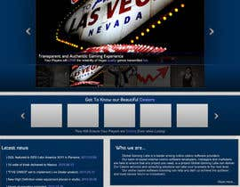nº 5 pour Website Design for A Leading Live Casino Software Provider par CTRaul