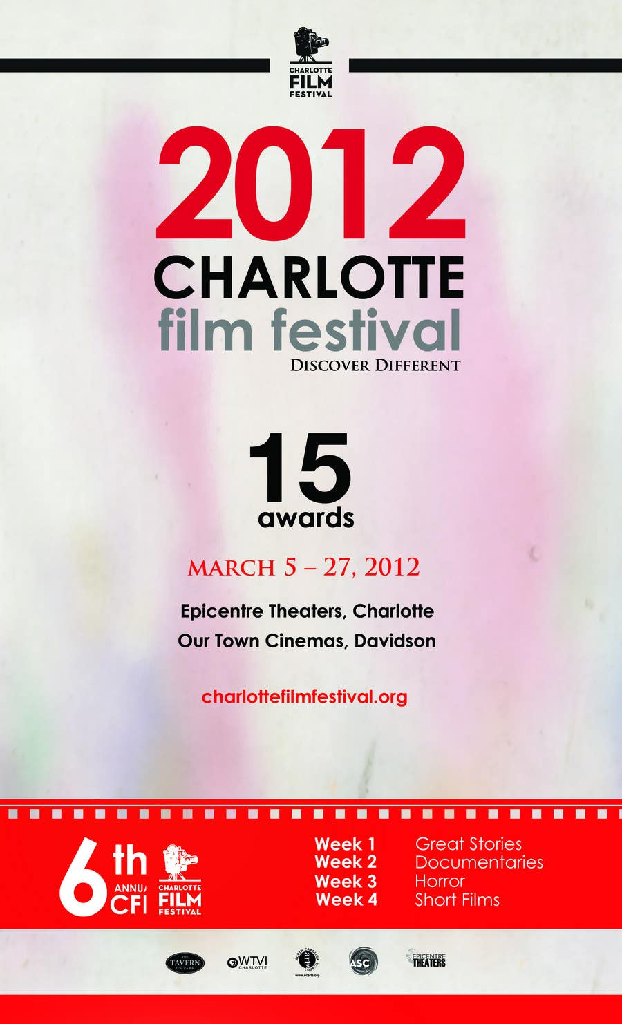 Proposition n°111 du concours Design materials for the Charlotte International Film Festival