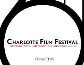 #74 for Design materials for the Charlotte International Film Festival af astrofish