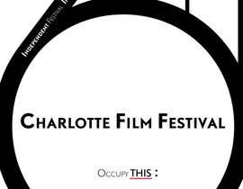 #79 untuk Design materials for the Charlotte International Film Festival oleh astrofish
