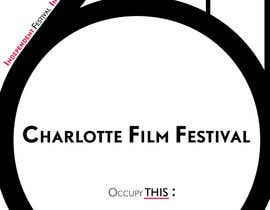 #77 for Design materials for the Charlotte International Film Festival af astrofish