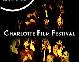 #82 untuk Design materials for the Charlotte International Film Festival oleh arfling
