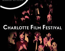 #83 untuk Design materials for the Charlotte International Film Festival oleh arfling