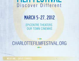 nº 53 pour Design materials for the Charlotte International Film Festival par Identity12