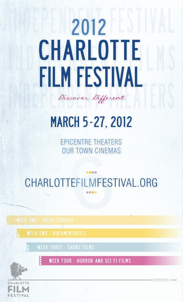 Proposition n°52 du concours Design materials for the Charlotte International Film Festival