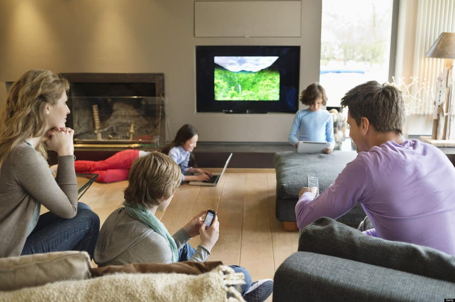 the effects of heavy television viewing at home Positive effects of television on social of as the difference between heavy and informed the research on prosocial effects of television viewing.