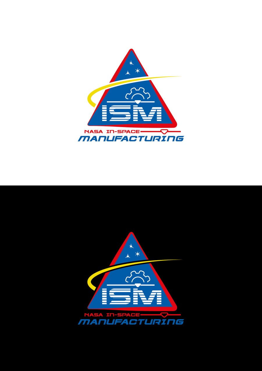#818 for NASA In-Space Manufacturing Logo Challenge by asdesignHU