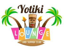 Elars tarafından Design a Logo for a Tiki Bar / Restaurant - Artists with 50's flair wanted! için no 47