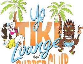 pauliciaolivier tarafından Design a Logo for a Tiki Bar / Restaurant - Artists with 50's flair wanted! için no 65