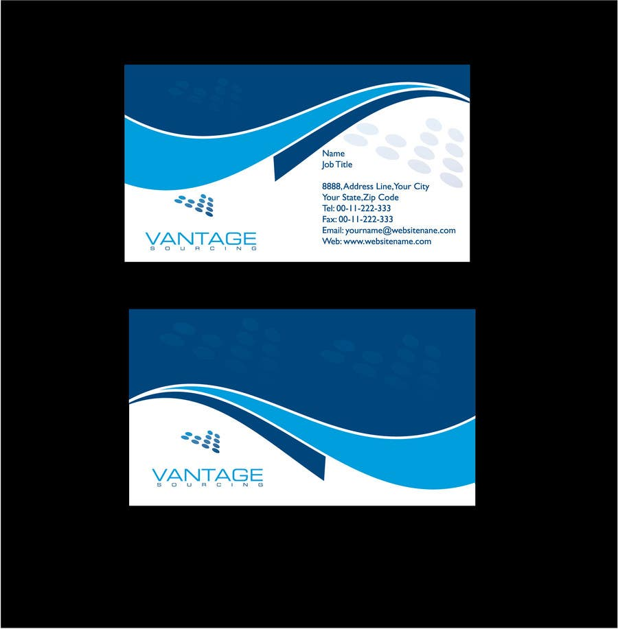 #70 for Business Card with Existing logo by DanaPopa