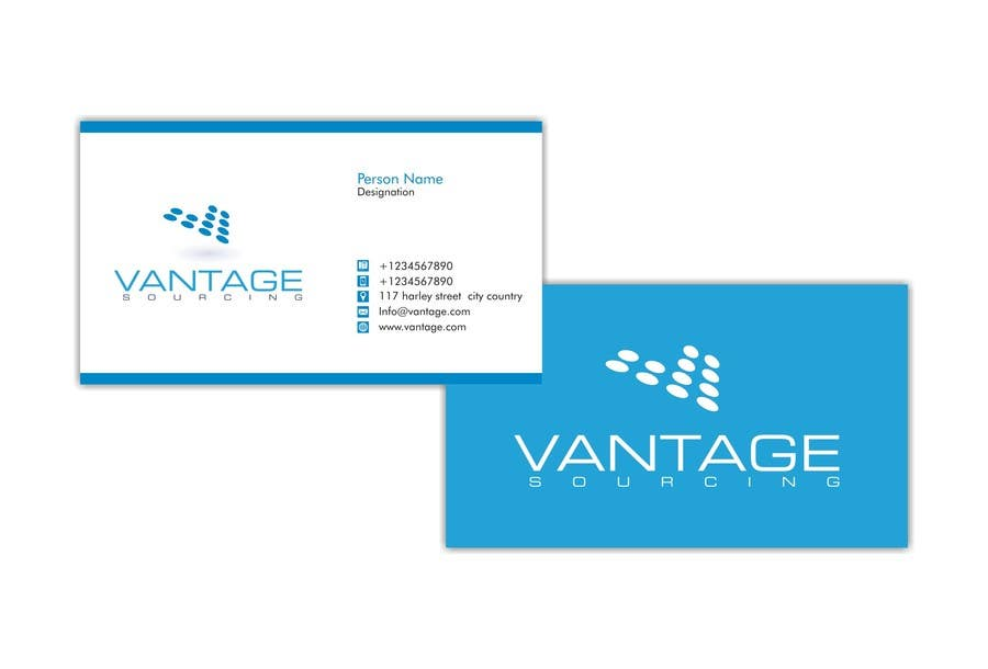 #64 for Business Card with Existing logo by nomi2009