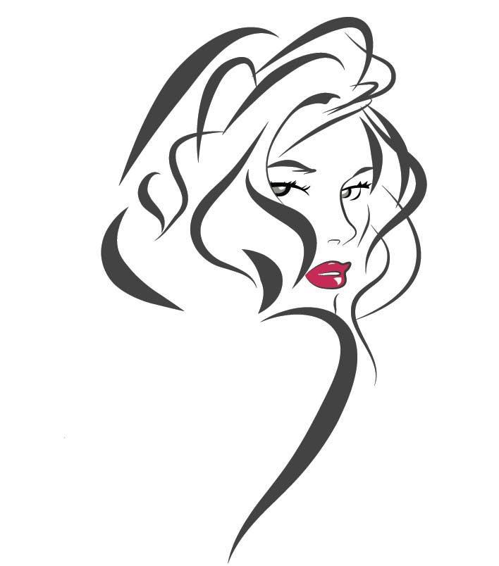 design a logo for hair salon