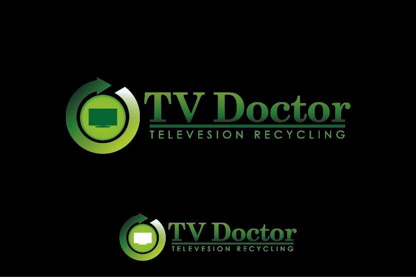 Penyertaan Peraduan #141 untuk Design a Logo for tv doctor recycling