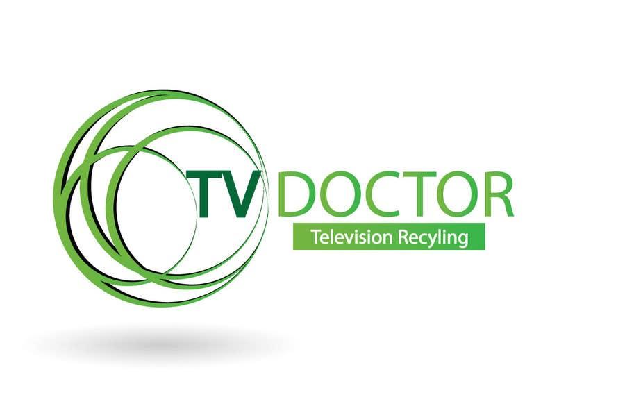 Penyertaan Peraduan #146 untuk Design a Logo for tv doctor recycling