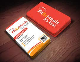 #18 for Design a Business Card for FitEx Meals by atikul4you