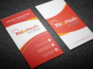 Graphic Design Contest Entry #60 for Design a Business Card for FitEx Meals