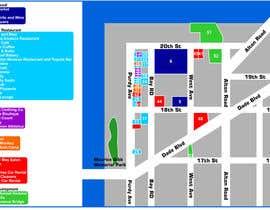 nº 11 pour Design a map of local shops and building types par tatuscois