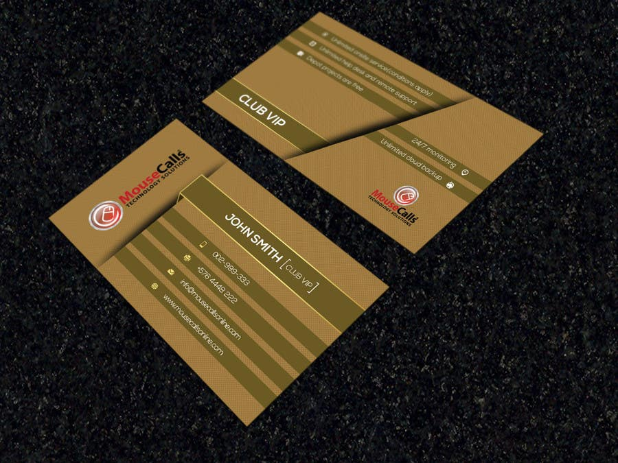 Entry #44 by OviRaj35 for Design some VIP membership cards for our ...