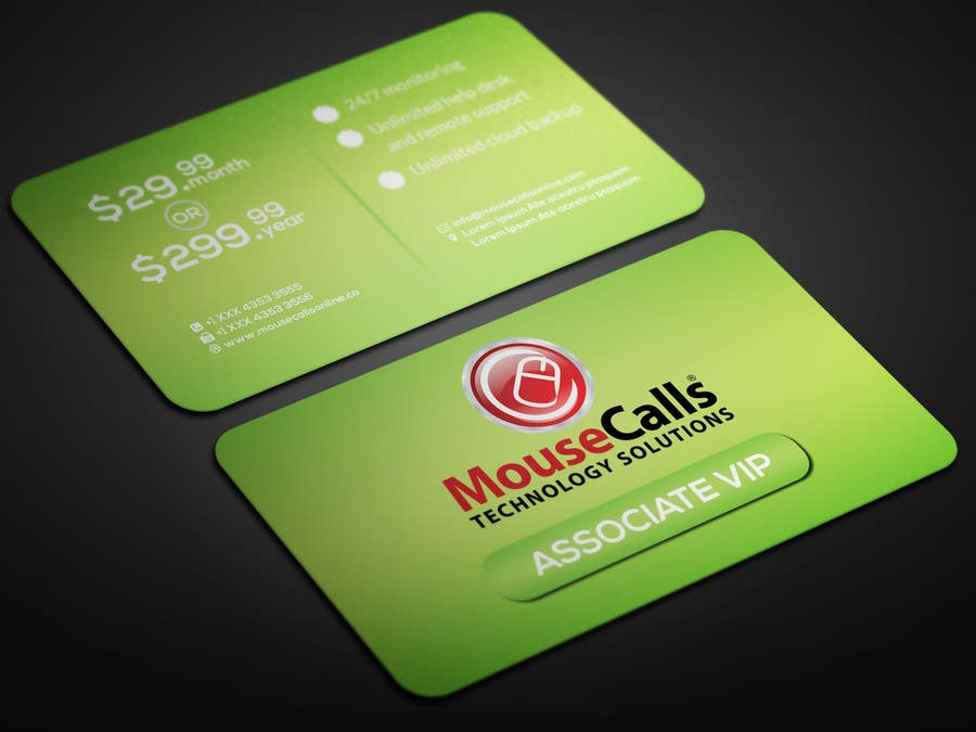 Design some VIP membership cards for our clients standard – Membership Cards Design
