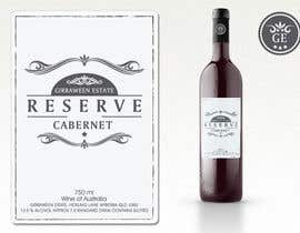 nº 56 pour Art Deco Wine Label and Logo design par cornelee
