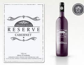 nº 57 pour Art Deco Wine Label and Logo design par cornelee