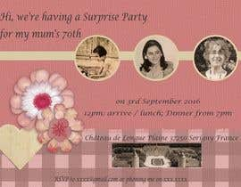 #16 for 70th Birthday invite by terucha2005