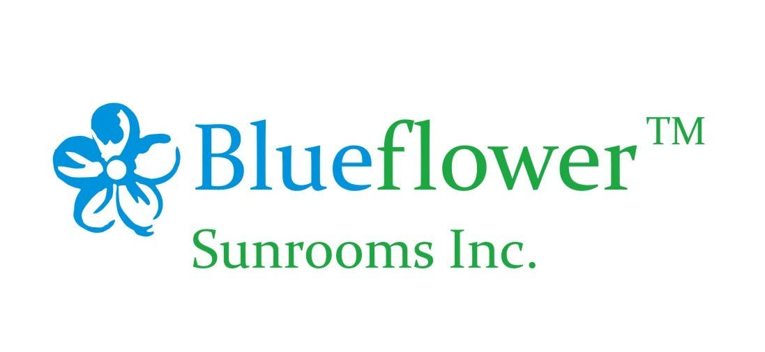 #355 for Logo Design for Blueflower TM Sunrooms Inc.  Windscreen/Sunrooms screen reduces 80% wind on deck by Anakuki