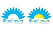 Graphic Design Конкурсная работа №414 для Logo Design for Blueflower TM Sunrooms Inc.  Windscreen/Sunrooms screen reduces 80% wind on deck