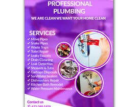 #6 for Flyer Design for Plumbing by waqas17