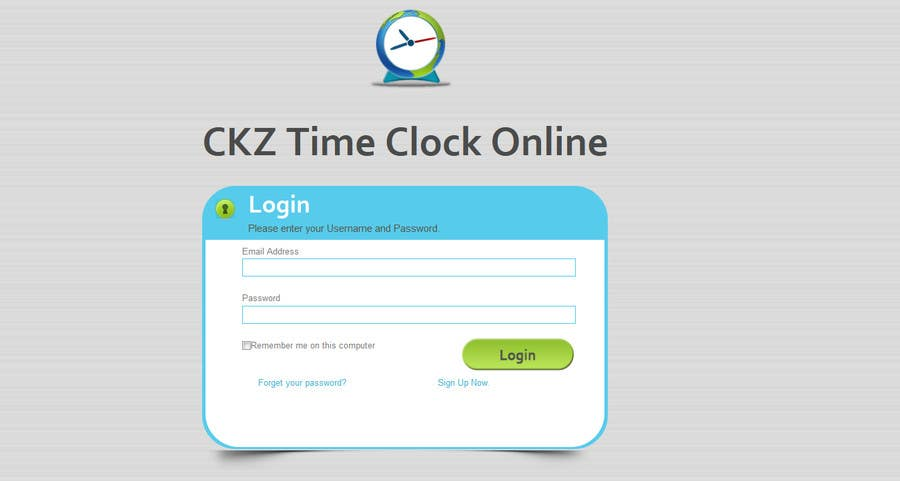 #2 for Create mobile version of CKZ Time Clock Online by codeunderground